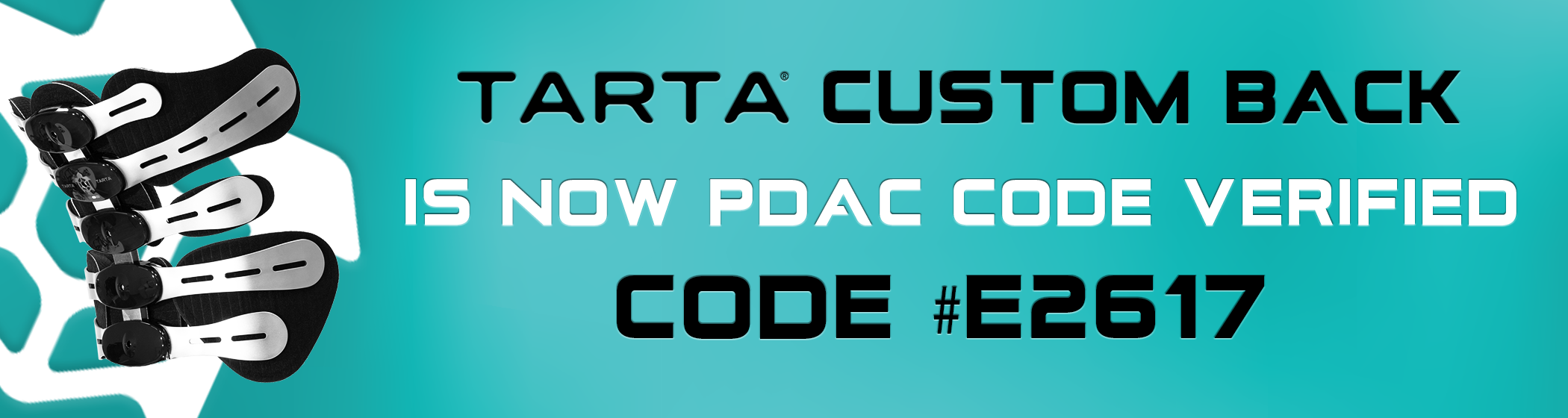 Tarta Now PDAC Code Verifed E2617