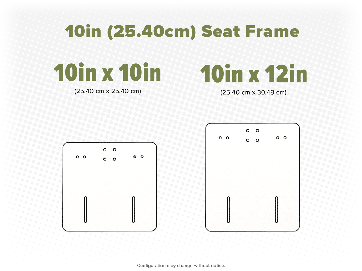 10in Frame Options