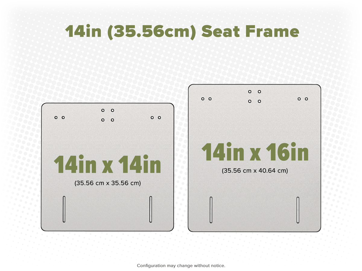 14in Frame Options