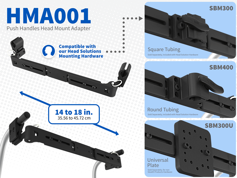 HMA001 - Compatible with our head mounting hardware