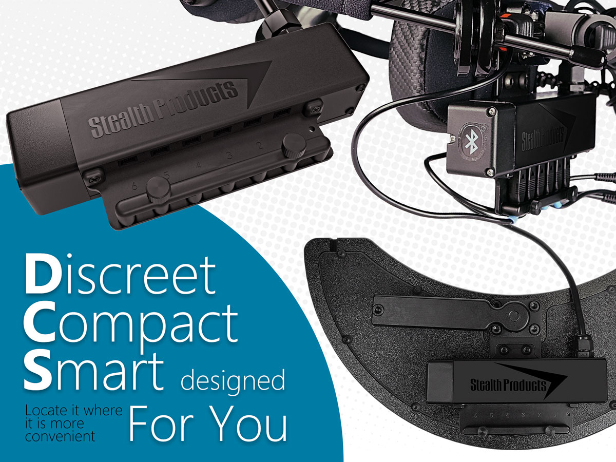 Discreet, Compact and Smart... designed with you in mind!