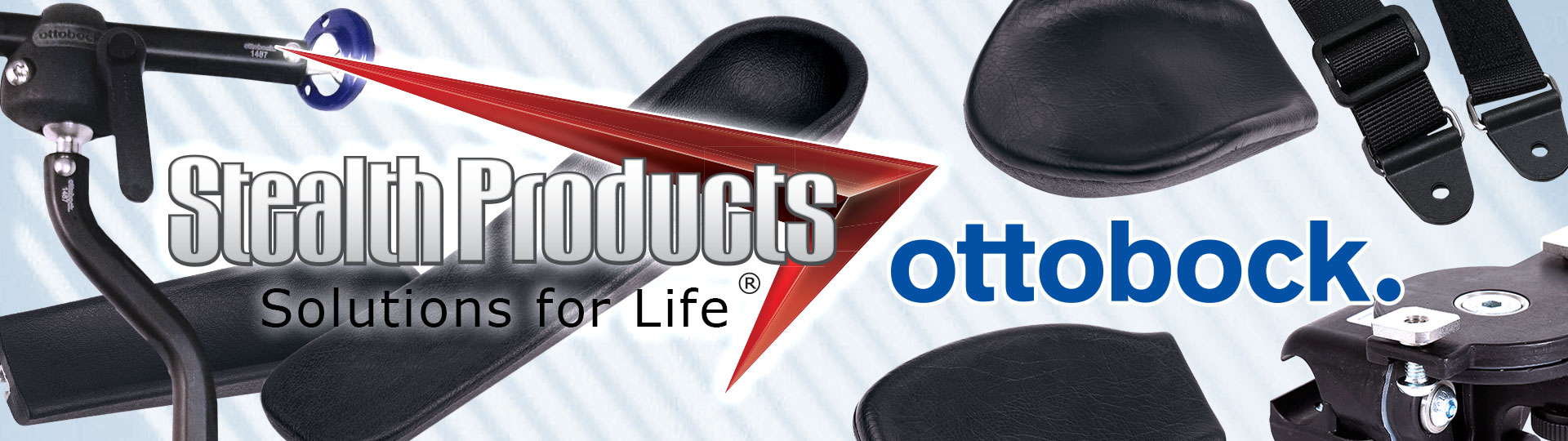Stealth Exclusive Distribution of Select Positioning Accessories from Ottobock