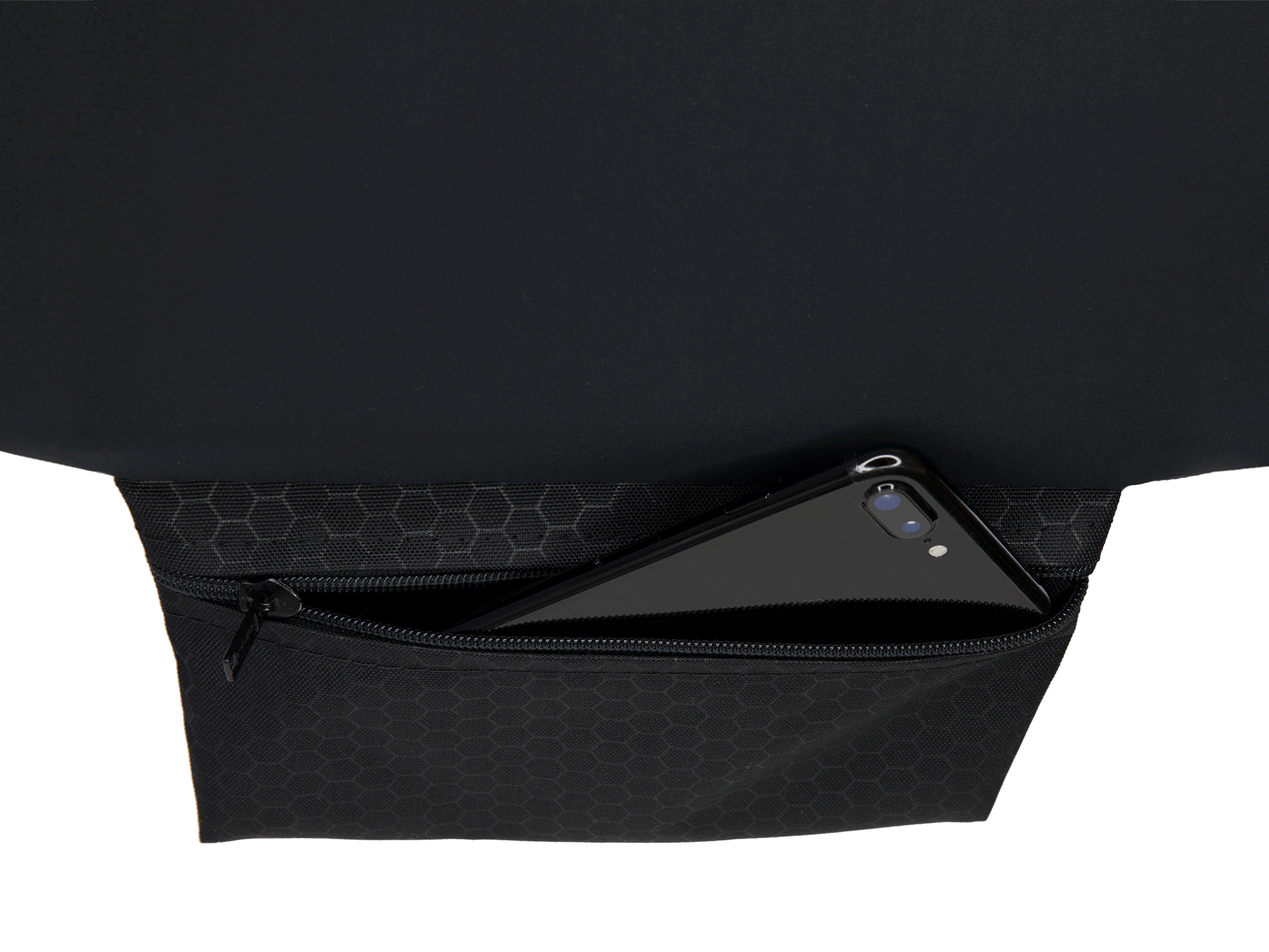 Front Pouch Storage Option