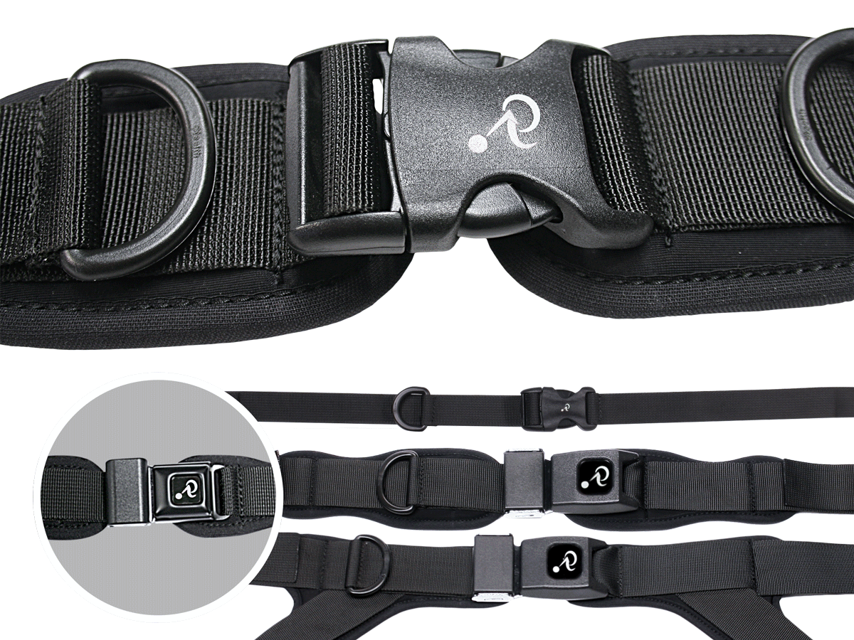 Stealth Positioning Pelvic Belts