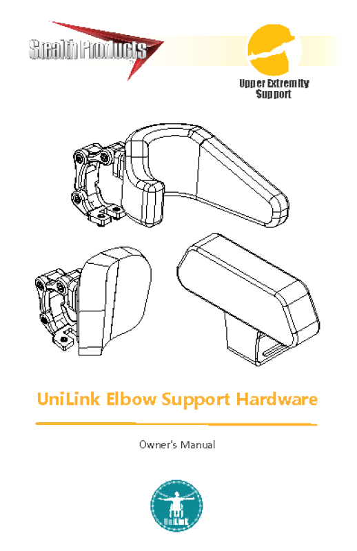 UNILINK ELBOW SUPPORT HARDWARE